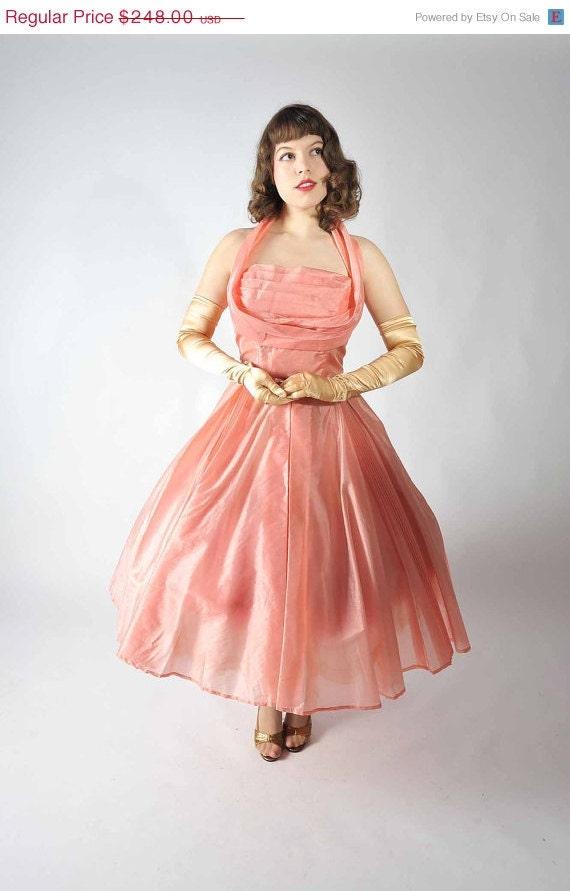 48 Hour Sale Vintage 1950s Party Dress Party Dresses At