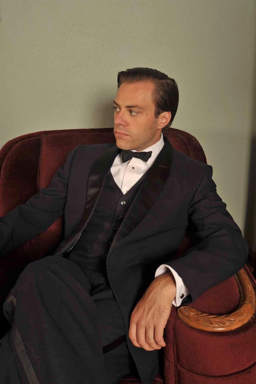 Vintage 1950s Tuxedo The Tony Martin Shawl Collar Tuxedo 40