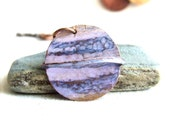 Saturn - Patinaed Copper - Patina Necklace - Planet, Solar System - Fall Fashion