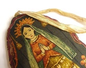 Virgin Mary Ornament in Spanish Colonial Style