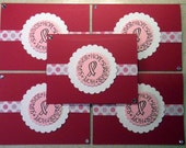 Breast CANCER notecard set of 5