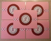Breast CANCER notecards 5 pack