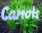 Carrot Carrots Row Marker Metal Lawn Decor Yard Art Plant Stake Garden Spike Outdoor Ornament
