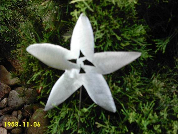 STAR FISH STARFISH STEEL METAL YARD ART GARDEN DECOR PLANT STAKE SPIKE