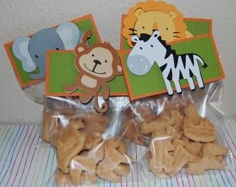 Safari Animal Treat bags/favor bags