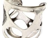 BattleStar Galectica Silver Double Layer Bracelet