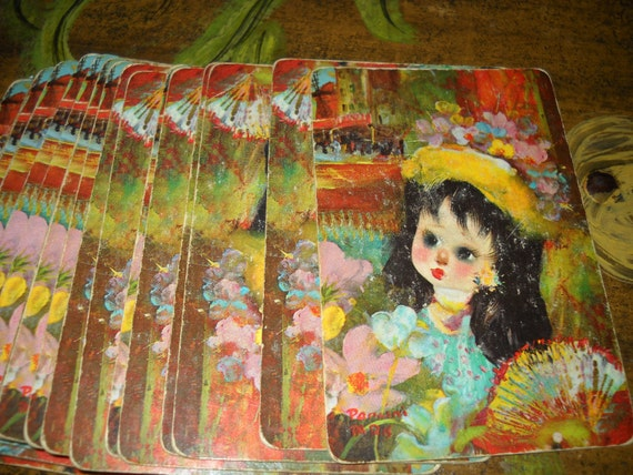 Vintage playing cards PIF