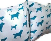Dogs Decorative Pillow Covers Set of 2