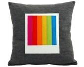 Polaroid Cushion Pillow - Instant Rainbow