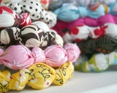 Pick Any 2 Designer Fabric Chomping Necklace for Teething Babies