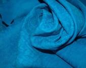 Pale soft Blue distress unique lambskin - a total of 5 square feet hide