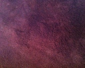 Dark Wine colored lambsuede leather - a 5 plus square foot hide- special