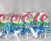 Chocolate Mermaid  Lollipops