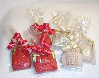 Ladies Chocolate Purse Favors bridal shower birthday tea party