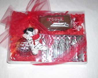 Chocolate Tool Box and Tools, Filled Hard Hat Gift Set