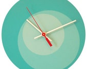 Reserved for saidcoco - Blue Circle Clock