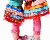 Ruffle Joy Skirt Pattern PDF Download