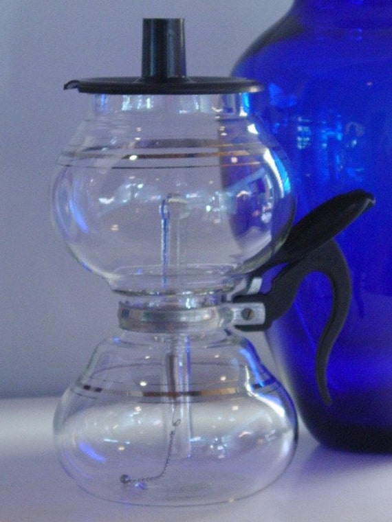 Vacuum Coffee Maker Glass Filter : Cory Vacuum Coffee Pot GREAT Design with Glass Filter Rod