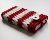 iPhone cozy in Red & White