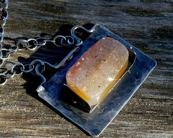 Drusy - Geological  Glitter - Necklace