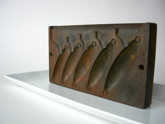 Cast iron lead sinker mold for Fishing sinker molds