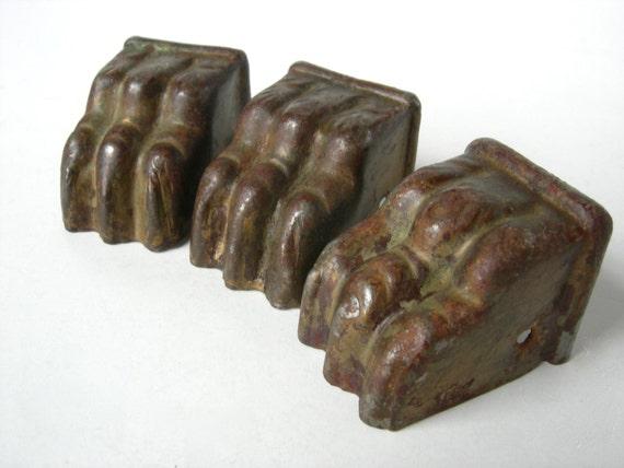 Antique Brass Claw Feet