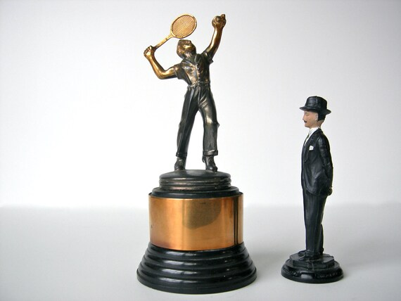 Antique Men's Tennis Trophy