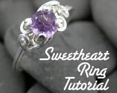 Tutorial - Sweetheart Prong Ring