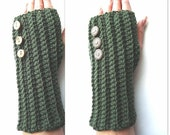 PATTERN - Crochet Fingerless Gloves Cuff
