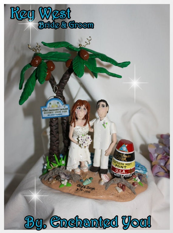 key west wedding cake toppers cake topper key west tropical by enchantedyou54449 16637