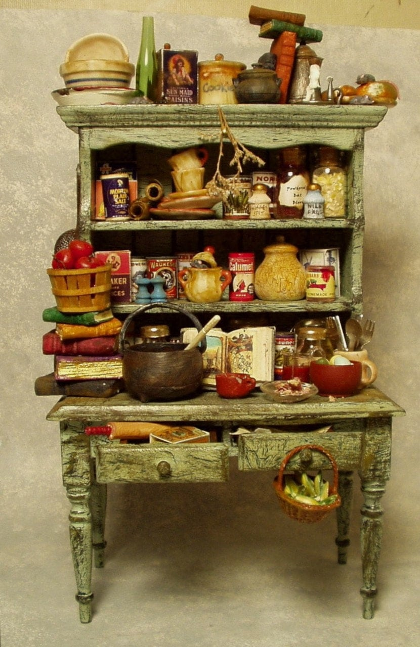 Doll House Witch S Hutch Well Stocked With By
