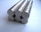 50 Neodymium Rare Earth Magnets....Size 1/4 x 1/16