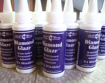2 oz Bottle of Diamond Glaze