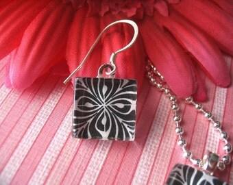 30pc... 16mm glass tiles... Great for earrings or pendants