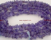 PREMIUM Rare 3-5mm TANZANITE Chips Loose Gemstone Beads 17 Inch Strand ETSY-A