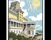 Watch Hill - Rhode Island silkscreen print