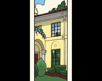 Rhode Island Homes - Providence silkscreen print