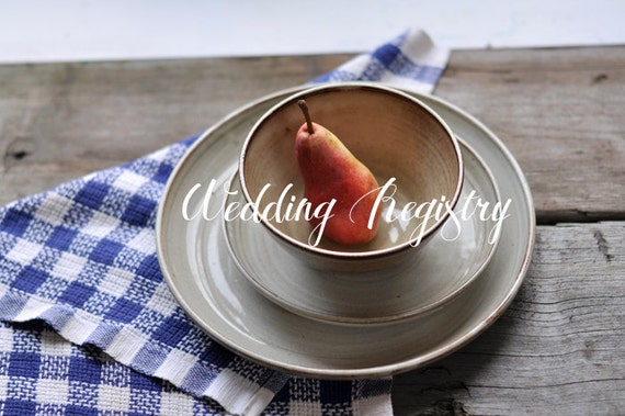 Wedding Registry - Susan and Justin - Place Setting