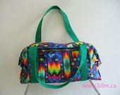 Rainbow Aztec Duffle Bag