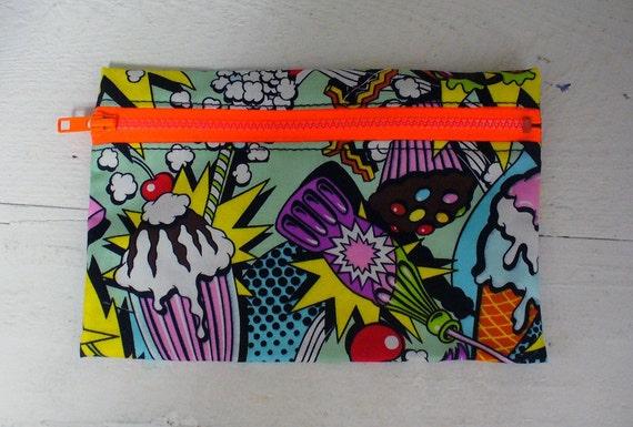 Snack Attack Pencil Case