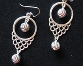 SALE! WARRIOR PRINCESS Earrings in Antiqued Tibetan Silver, Regular Price: 21 dollars, would make a much appreciated Gift