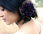 Marie - Fascinator, Hair piece and Brooch