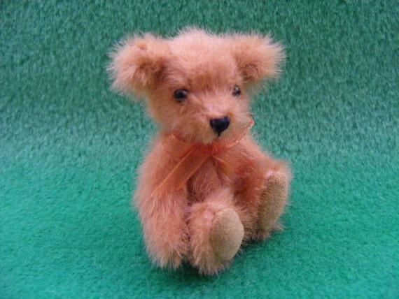 Miniature Jointed  Scruffy Bear