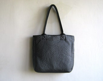 "Rough ""Skin"" Silver/ Grey tote Shoulder Bag"