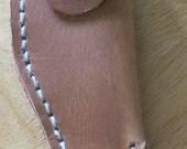 Small oiled leather Knife Sheath
