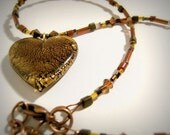 Brown Eyed Girl Necklace