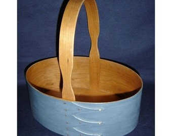 No. 5 Cherry Fixed Handle Shaker Carrier - Painted in Blue