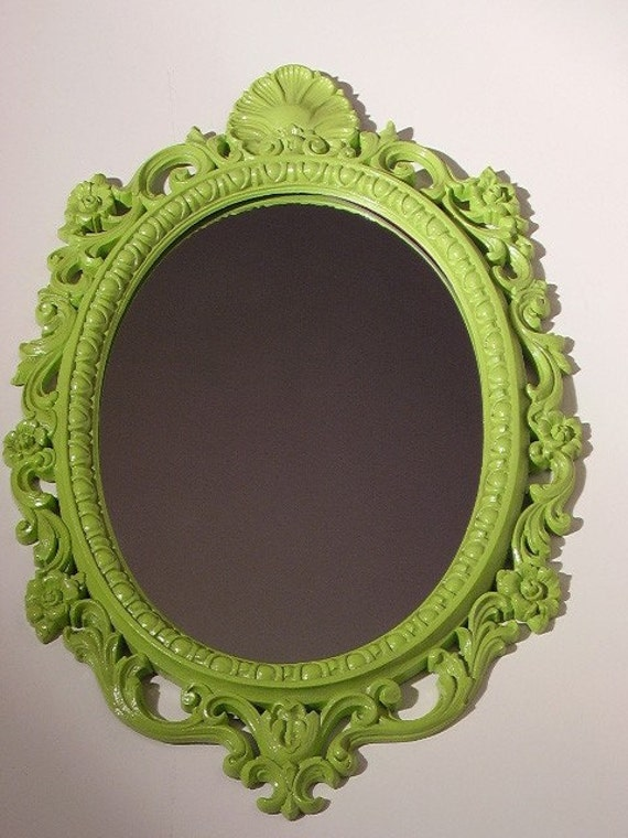 Reflect Yourself Chartreuse mirror