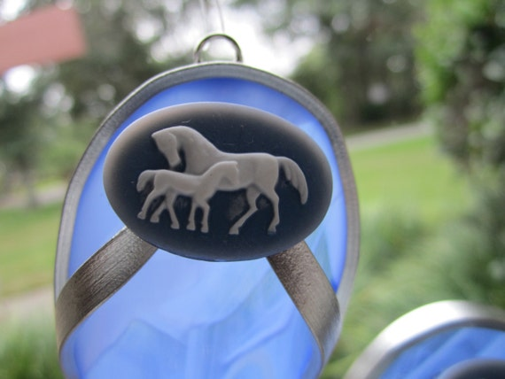 Horse Lovers Flipflop Suncatcher