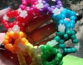 3D Rainbow Brite Cuff